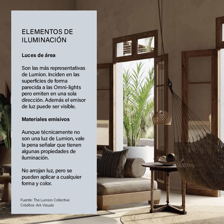 Tips Lumion, iluminación