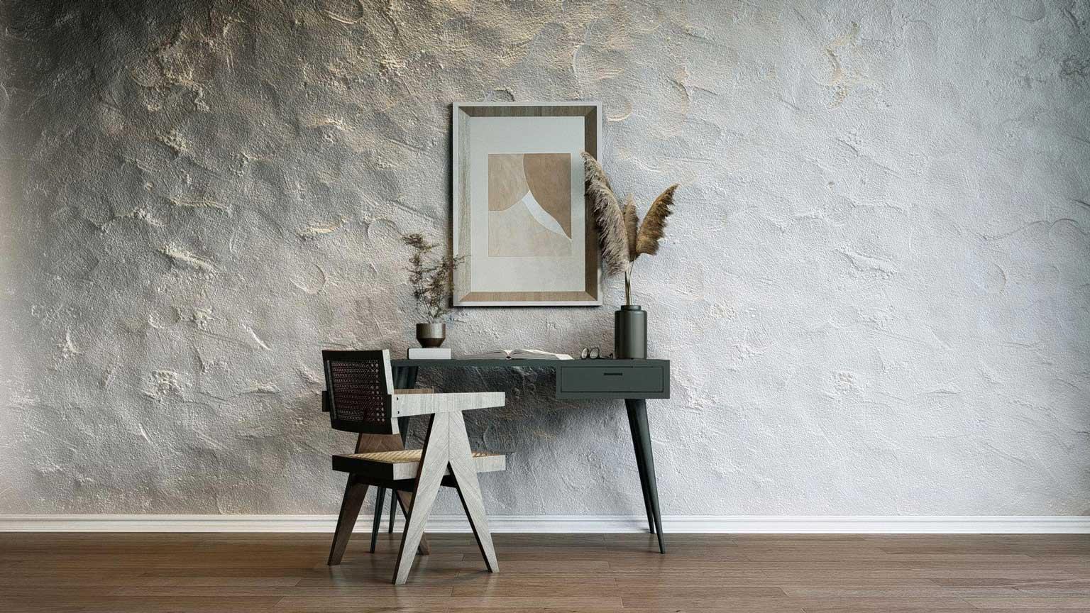 plaster-wall