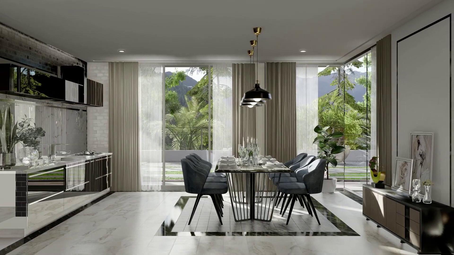 7 impresionantes interiores renderizados con Lumion 10