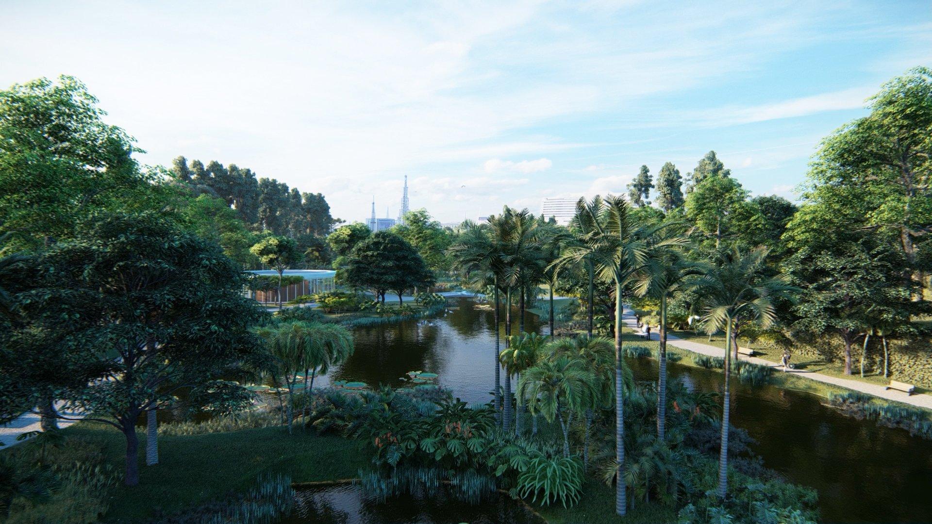 Convertir cementerios urbanos en jardines botánicos y zonas verdes de uso público.