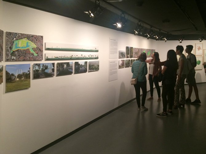 exposición_Vídeo de Lumion para el proyecto Jardines del tiempo