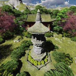 my-lumion-jardin-chino