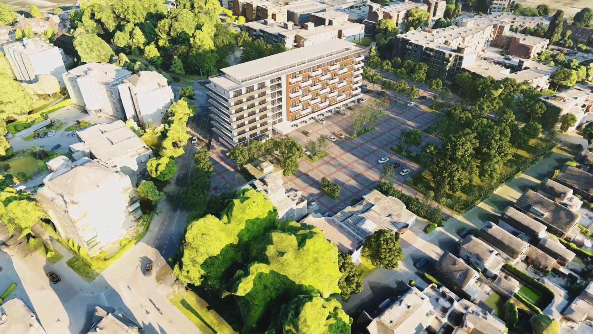 Flujos de trabajo de Dron a 3D para visualizaciones arquitectónicas